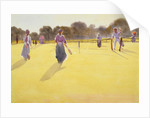 Edwardians at Tennis by Tom Simpson