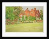 The Croquet Lawn at The Woodrow, 1911 by Wilfrid Williams Ball