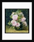 Roses in a Green Bowl, 1880 by Fanny W. Currey