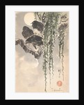 Three crows by Japanese School