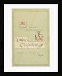 Title Page, Illustrations for 'David Copperfield', c.1920s by Joseph Clayton (1856-1937) Clarke