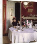 The Breakfast Table, 1884 by John Singer Sargent