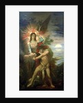 Jacob and the Angel, 1878 by Gustave Moreau