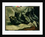 Three Pairs of Shoes, 1886-87 by Vincent van Gogh