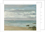Blue and Silver: Trouville, c.1865 by James Abbott McNeill Whistler
