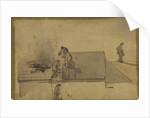 A Fire at Pomfret, c.1858 by James Abbott McNeill Whistler