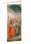 St. Jerome and St. Gregory by Antonio & D'Alemagna G. (d.1450) Vivarini
