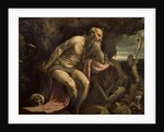St. Jerome, early 1560s by Jacopo Bassano