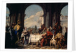 The Banquet of Anthony and Cleopatra, c.1744 by Giovanni Battista Tiepolo