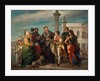 The Meeting Between Titian and Veronese on the Ponte della Paglia by Antonio Zona