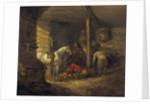 Stable Scene by George Morland