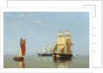 Shipping Scene, 1880 by Joannes Frederick Schutz