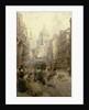 Fleet Street Looking East, 1898 by Henry Edward Tidmarsh