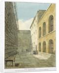 The Press Yard, Newgate Prison by Frederick Nash