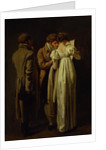 The Amateur Print Collectors by Louis Leopold Boilly