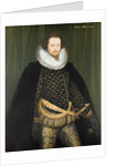 Robert Devereux Earl of Essex, 1594 by Nicholas Hilliard