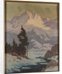 View of the south fork of Bishop Creek by Elmer Wachtel