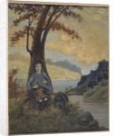 Italian Girl, c.1913 by Louis Michel Eilshemius