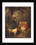The Lucky Sportsman, 1792 by George Morland
