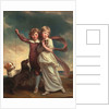 Thomas John Clavering and Catherine Mary Clavering: The Clavering Children, 1777 by George Romney