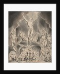 Illustration 1 to Milton's Paradise Lost: Satan Calling Up His Legions, 1807 by William Blake