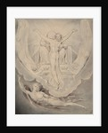 Illustration 3 to Milton's Paradise Lost: Christ Offers to Redeem Man, 1807 by William Blake