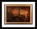 Satan Enthroned in Hell by Samuel Colman