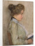 Female Torso in Profile with Book, c.1898-1900 by Piet Mondrian