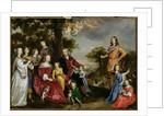 Portrait of W. van der Kerckhoven and his family, 1652 by Jan Mytens or Mijtens