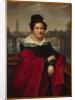 Portrait of an architect's wife, Berlin, 1821 by W. Herbig