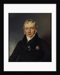 Friedrich von Motz, after 1827 by Franz Kruger