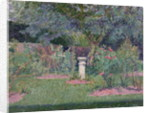 The Garden at Hertingfordbury, 1908 by Spencer Frederick Gore