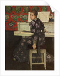 The White Piano, 1894 by Arthur Melville