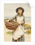 The Mussel Gatherer by Henry James Johnstone