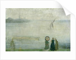 Battersea Reach from Lindsey Houses, c.1864-71 by James Abbott McNeill Whistler