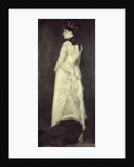 Harmony in Flesh Colour and Black: Portrait of Miss Louise Jopling by James Abbott McNeill Whistler