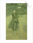 Note in Green and Brown: Orlando at Coombe, c.1884-85 by James Abbott McNeill Whistler