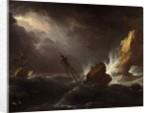 Seascape in Stormy Weather, c.1700 by Adriaen van Diest