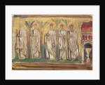 Sketch of a mosaic at Ravenna, 1898 by John Singer Sargent