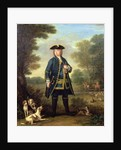 Portrait of Sir Robert Walpole as Master of the King's Staghounds in Windsor Forest by John Wootton