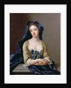 Portrait of Catherine Shorter, 1st wife of Sir Robert Walpole by Michael Dahl