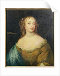 Portrait of Jane Middleton court beauty in the reign of Charles II by English School