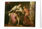 Samson and Delilah by Artemisia Gentileschi