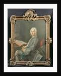 Portrait of Duval de l'Epinoy, 1745 by Maurice Quentin de la (attr. to) Tour