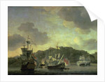 A Naval Engagement, 1659 by Willem van de the Younger Velde