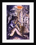 Sax Player by Hilary Rosen