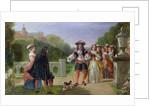 King Charles II and Nell Gwynne by Edward Matthew Ward