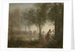 Orpheus Leading Eurydice from the Underworld, 1861 by Jean Baptiste Camille Corot