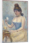 Young Woman Powdering Herself, 1889 by Georges Pierre Seurat