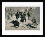 The Defeat of Crazy Horse c.1901, possibly c.1896 by Frederic Remington
